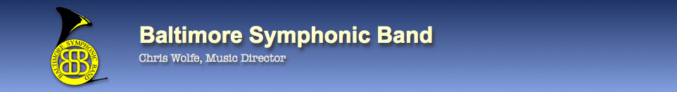 Baltimore Symphonic Band Oficial Site